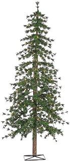 Sterling 6' Pre-Lit Alpine Tree - Clear Home Decor, 19InL x 19InW x 73InH, Green