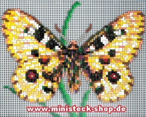 Ministeck 31310 Apollo-vlinders, steekplaat, accessoires, ca. 1300-delig