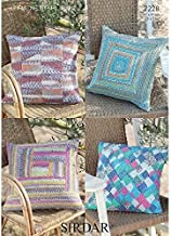 Sirdar Home Cushions Crofter Knitting Pattern 7228 DK