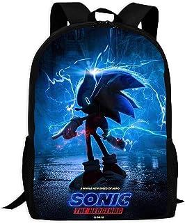 So-nic Kids Toddler Backpacks Unique Bookbag Waterproof School Bags for Boys and Girls