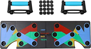 Household Multifunction Push Up Rack Board 9 System Comprehensive Fitness Exercise Workout Push-up Stands Body Building Tr...