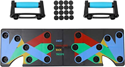 Household Multifunction Push Up Rack Board 9 System Comprehensive Fitness Exercise Workout Push-up Stands Body Building Training GYM for Men and Women