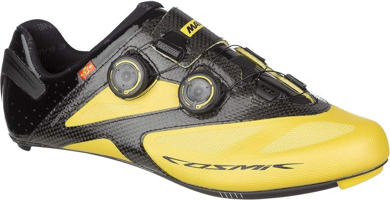 Mavic Mavic Cosmic Ultimate Maxi Rennrad Fahrrad Schuhe gelb schwarz 2017