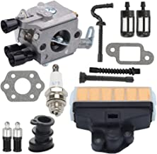 C1Q-S11E C1Q-S11G Carb Carburetor for STIHL 021 MS210 023 MS230 025 MS250 Chainsaw 1123-120-0603 ZAMA + Air Filter Repower Kit
