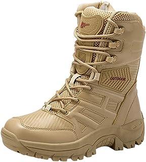 Homme Chaussures de Sport Mens Casual Shoes Durable Desert Outdoor Hiking Chaussures de Combat Hommes Tactique Bottes Delt...
