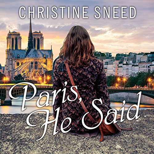 Paris, He Said audiobook cover art