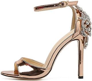ea94fdd7 Sandalias Tacón Alto de Vestir para Mujer, QinMM Zapatos de Baño Chanclas  Verano de Playa
