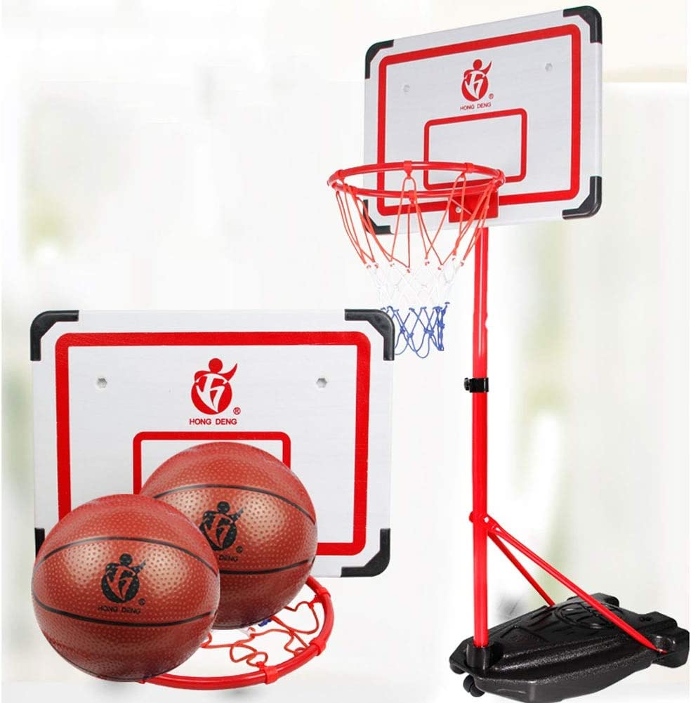 XZYB-lanqj Qxz182 Reinforced Max 78% OFF Support Rack Childr National products Base Basketball