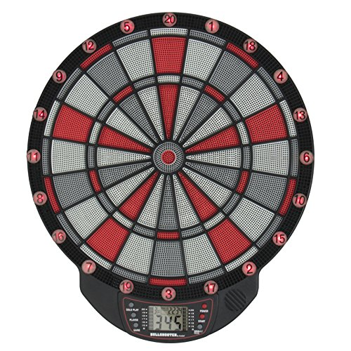 Bullshooter by Arachnid Illuminator 1.0 Electronic Light Up Dartboard with LCD Display and 13 Light Up Games