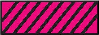 Surgical Instrument Identification Sheet Tape Diagonal Black Stripe Red