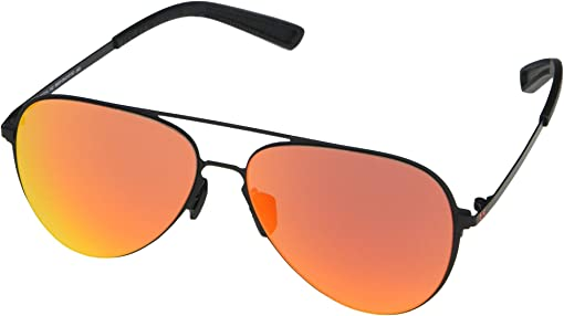 Satin Black Frame/Black/Rose Brown/Beta Red Mirror Lens