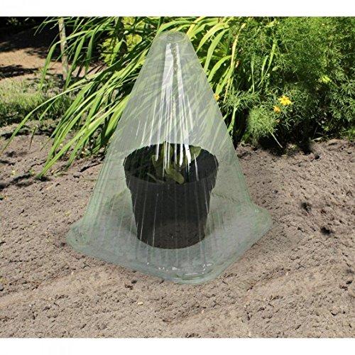 Pflanzhut Set Gewächs-Hauben Ziehglocke Pflanzenhut Gewächshaus Anzuchtglocke, Stück:10