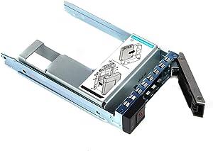 SZMYX 3.5 inch Drive Caddy with 2.5 inch HDD Adapter Compatible for 14th Dell PowerEdge Servers R240 R340 R440 R540 R640 R6415 R740 R740xd R740xd2 R6415 R7415 R7425 X7K8W