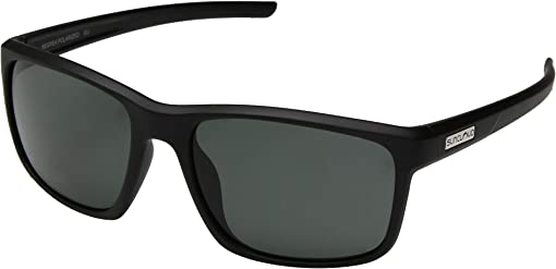 Matte Black/Polarized Gray Lens
