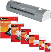 3M Laminator Kit With Every Size Laminating Pouch