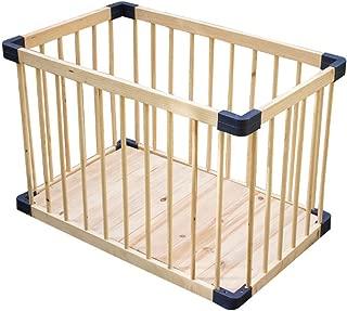 GWFVA Baby Toddler Crawl Crawl Mat Rug  S  Kids Rails Child Safety Rails Solid Wood Baby Cot Bars Folding Bed Room Divider