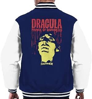Hammer Dracula Prince of Darkness Poster Men's Varsity Jacket