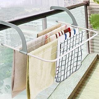 dehong - Zapatero Plegable para Colgar en el Exterior de la Ventana, balcón, radiador, toallero
