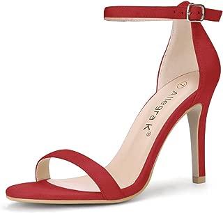 Women's Stiletto High Heels Ankle Strap Sandals