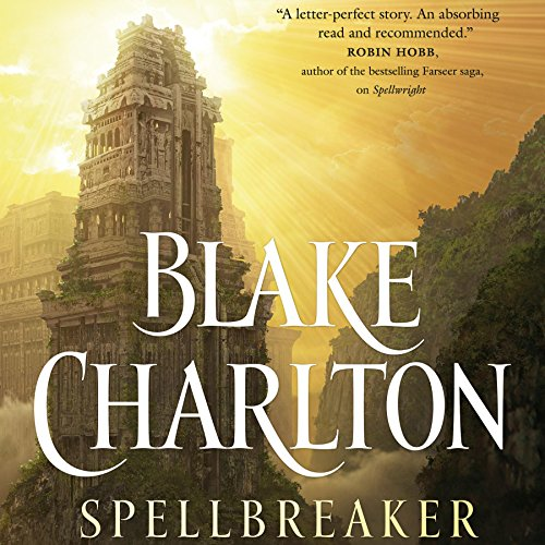 Spellbreaker audiobook cover art