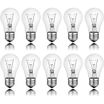 Glühbirne GlühlampenTropfenlampe 25 Watt klar E27-25 Watt Tropfen Lampe klar