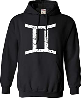 Adult Gemini Zodiac Sign Sweatshirt Hoodie