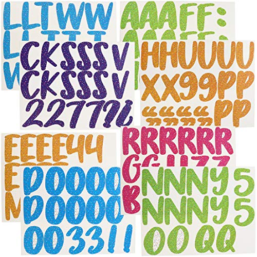 Bulletin Board Alphabet Letters and Numbers Cutouts (146 Count)