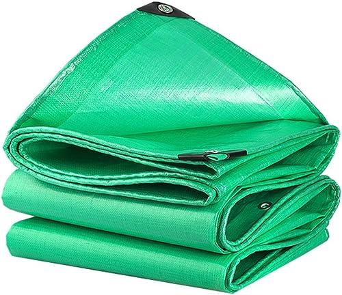 Baches Couvertures résistantes imperméables vertes de bache de remorque de camping de bache de 160g   m2 de bache pour le camping, la pêche, le jardinage, options de Multi-taille Couverture de piscine