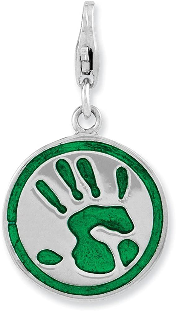 Big Max 71% OFF Sur Elegance Sterling Silver 3-D Enameled Go Green Lobster Branded goods C