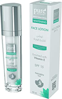 pure beauty Whitening Face Lotion with SPF 15-50ml