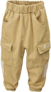 Baby Boys' Cargo Pant Casual Pants Jogger Pants 3-7 Years Old