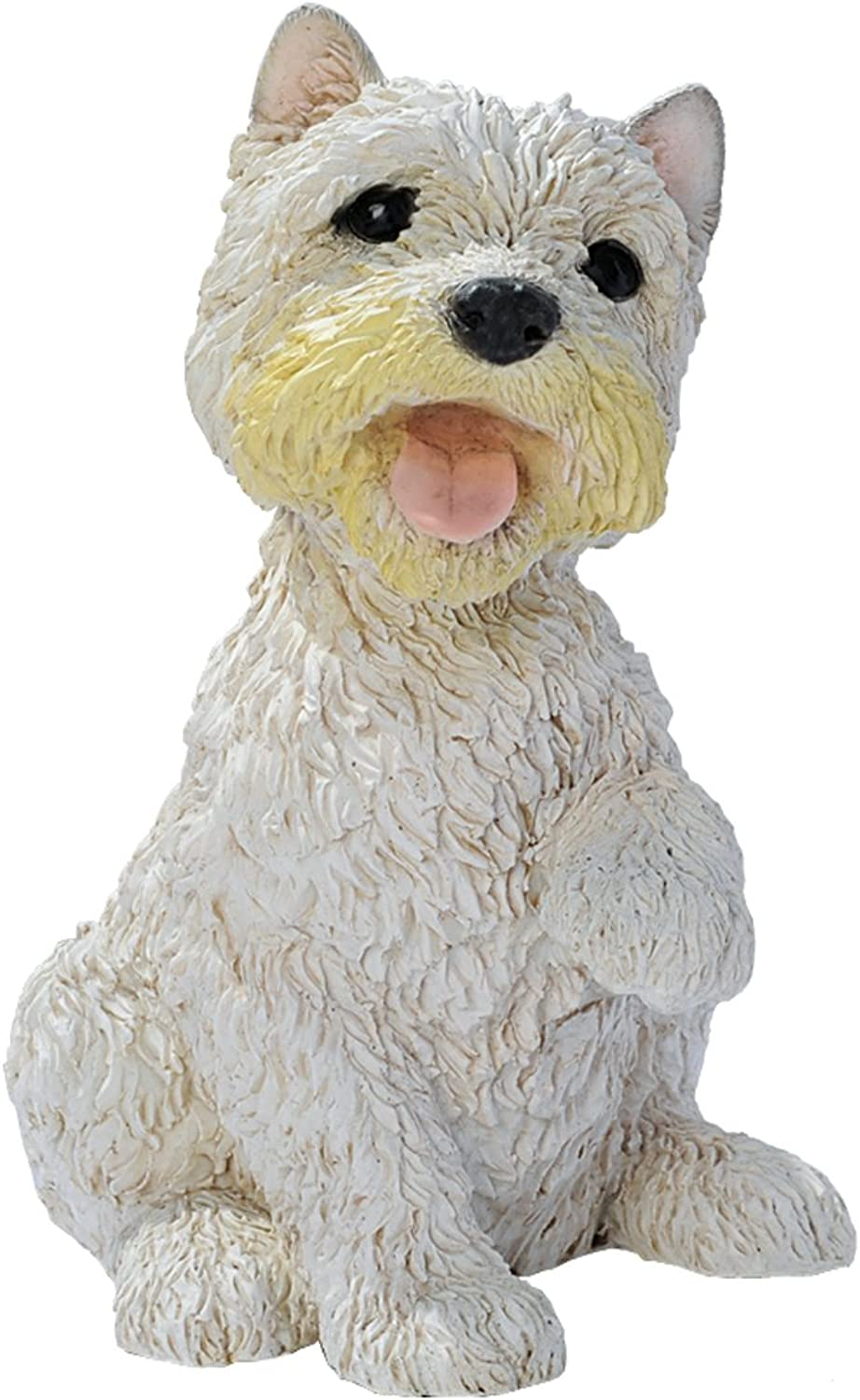 Design Toscano West Highland Terrier Puppy Dog Statue, Multicolord