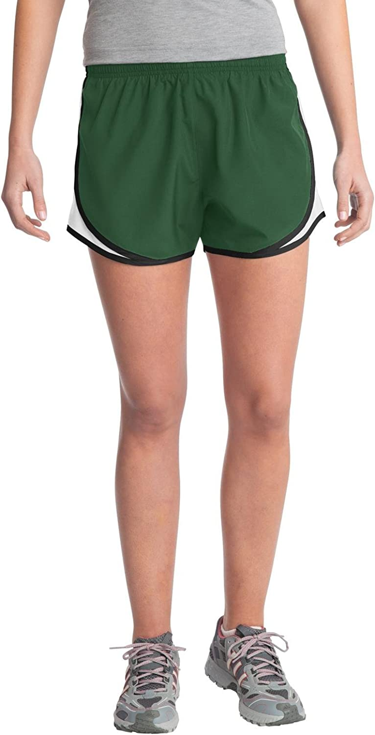 Amazon Com Sport Tek Women S Elastic Waistband Cadence Short Clothing Home / unlabelled / rugby live. sport tek women s elastic waistband cadence short