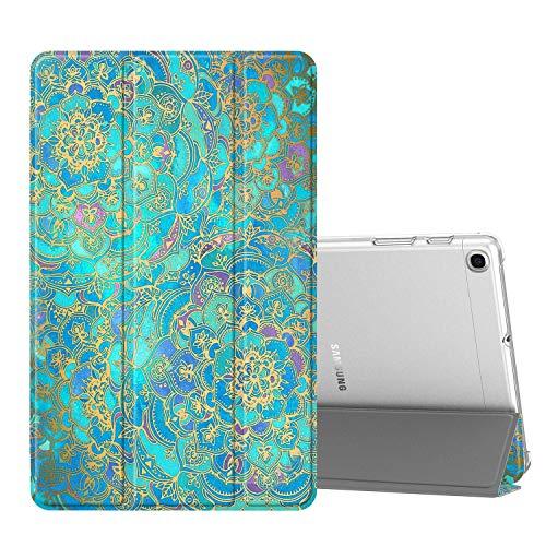 Fintie Hülle für Samsung Galaxy Tab A 10,1 SM-T510/T515 2019 - Superdünn Schutzhülle mit durchsichtiger Rückseite Abdeckung Cover für Samsung Galaxy Tab A 10.1 Zoll 2019 Tablet, Jade