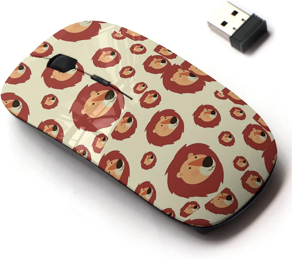 2.4G Ranking TOP6 Wireless Mouse with shopping Cute Pattern for All Laptops Design and