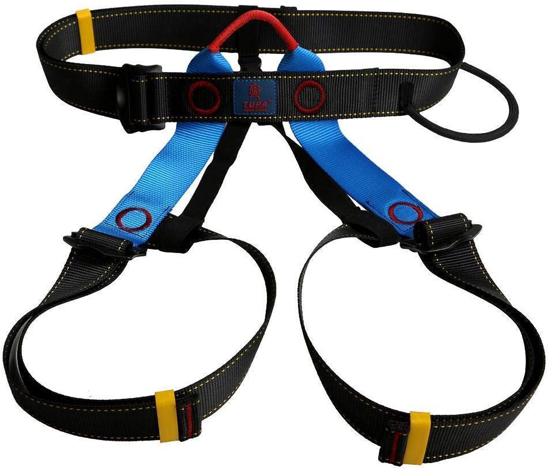 FidgetFidget Mountaineering Abseil Rock Climbing Safety Rappelling Harness Sitting Belt