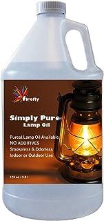 Firefly Kosher Paraffin Lamp Oil – 1 Gallon – Odorless & Smokeless..