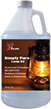 Firefly Paraffin Lamp Oil - 1 Gallon - Odorless & Smokeless - Simply Pure - Ultra Clean Burning Liquid Paraffin Fuel