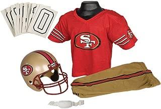 Franklin Sports NFL San Francisco 49ers Deluxe Youth Uniform Set, Medium