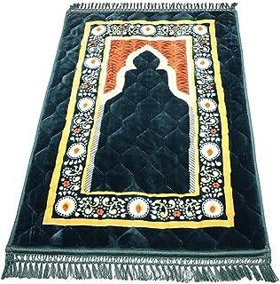 Super soft memory foam islam prayer mat GREEN