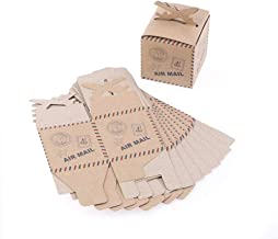 Bags & Wrapping Supplies - 50pcs Airplane Gift Box Candy Kraft Paper Wedding Travel Theme Decoration Baby Shower Souvenirs - Party Back Favor Travel Box Birthday Gift Birthday Cover J5 Alb