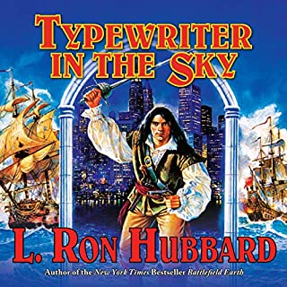 Typewriter in the Sky audiobook cover art