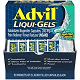 Advil Liqui-Gels Pain Reliever and Fever Reducer, Solubilized...