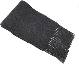 SCARF Alpaca Wool blend flat weave made in PERU