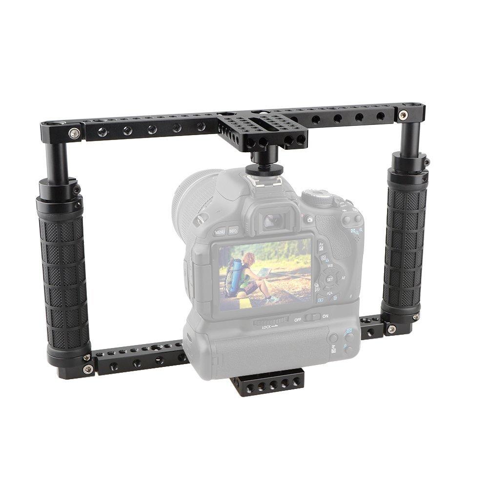 CAMVATE - Jaula para cámara de Fotos con Adaptador QR para c