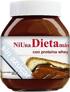 3 nutellas Ni Una Dieta Mas (con proteína whey y sin azúcar)