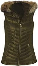 Michael Kors Women's Olive Green Down Vest XXS