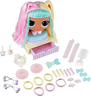 LOL Surprise OMG Styling Hoofd met geworteld haar voor eindeloze styles - 30 verrassingen en Accessoires - Candylicious