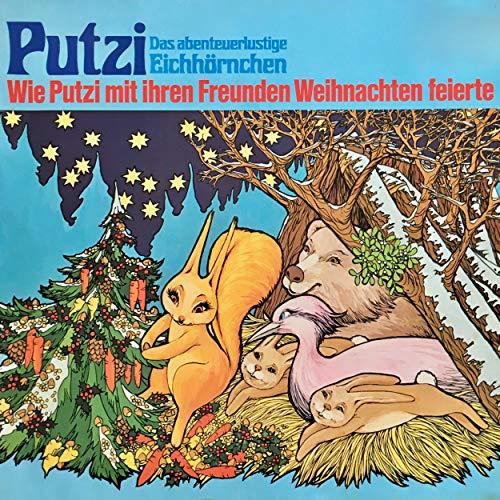 『Wie Putzi mit ihren Freunden Weihnachten feierte』のカバーアート