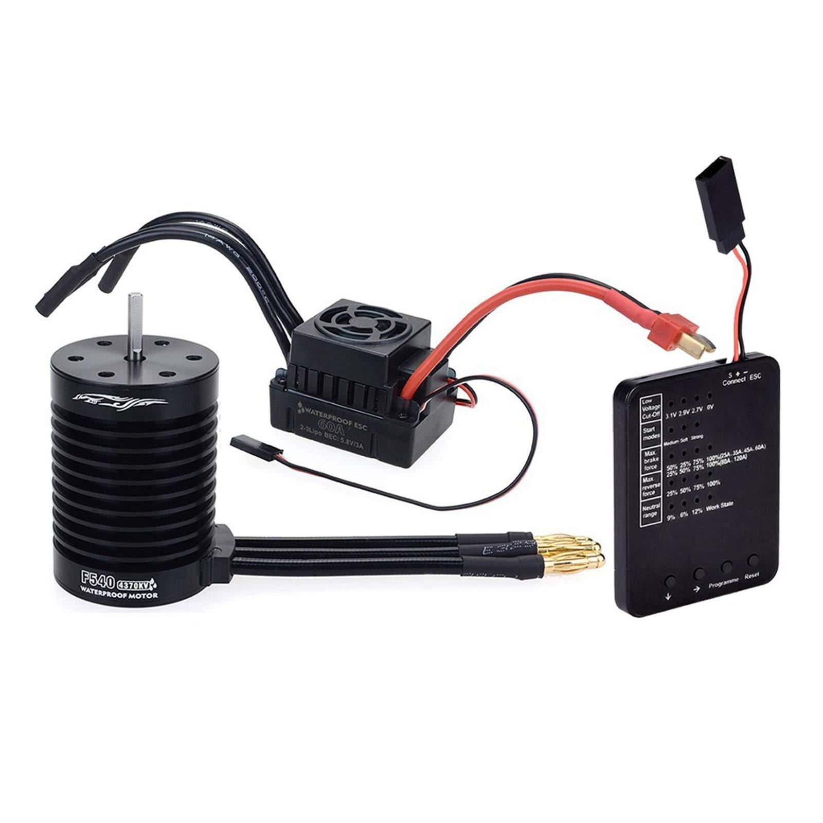 Brushless Motor and Esc, F540 4370KV Waterproof Brushless Mo